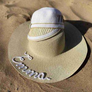 sombrero personalizado para niñas