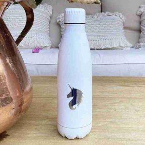 botella blanca personalizada