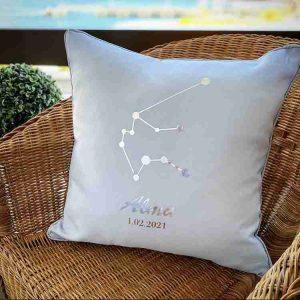 Cojines personalizados con horóscopos
