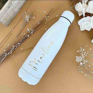 Botella personalizada de acero inoxidable