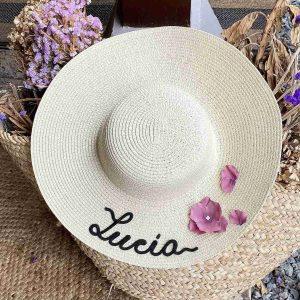 pamela con flores personalizadas