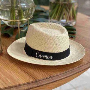Sombreros personalizados panamá cinta