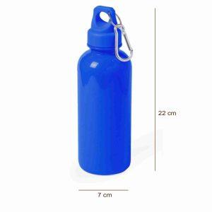 Botella de Bidón Azul