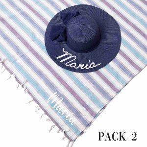 Pack 2 Pareo Pamela