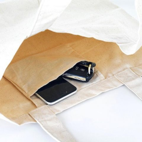 bolso personalizado con bolsillo interior